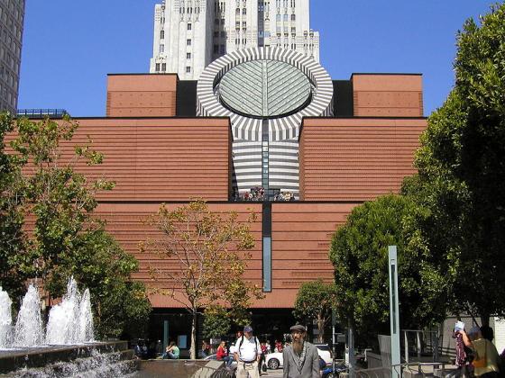 San Fransiscon modernin taiteen museo SFMOMA (San Francisco Museum of Modern Art)